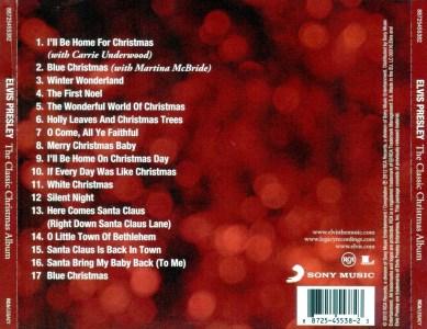 The Classic Christmas Album - EU 2012 - Sony Music 88725455382 - Elvis Presley CD